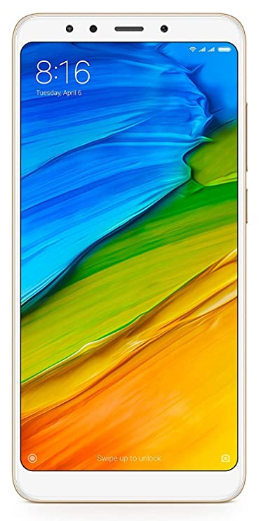 Xiaomi Mi Note 5  Gold, 4 GB RAM, 64 GB Storage  Smartphones