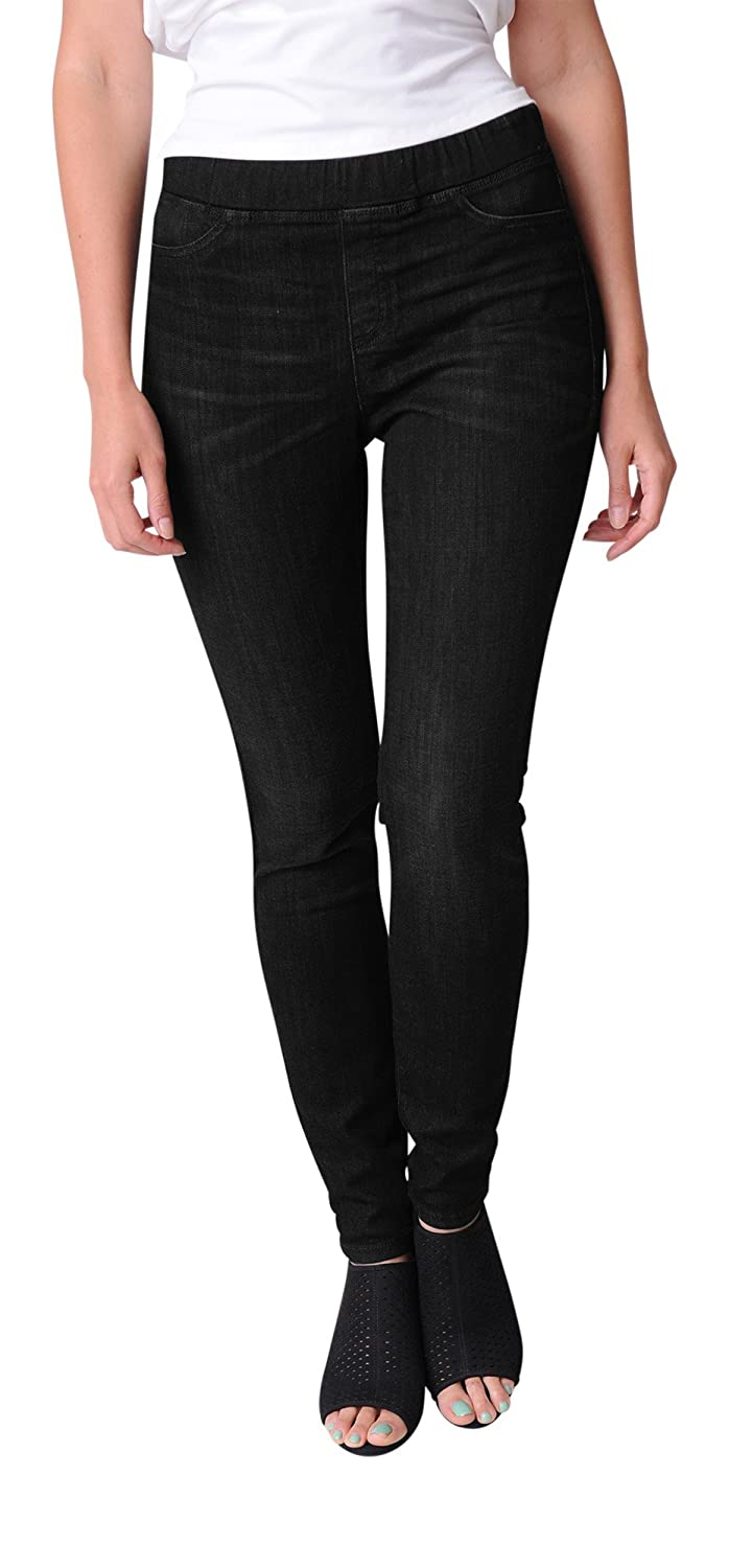 Top Eileen Fisher Organic Cotton Soft Stretch Denim Jegging free shipping