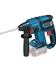 Bosch Professional Akku Bohrhammer GBH 18 V-EC (ohne Akku, SDS-Bohrfutter SDS-plus, L-BOXX, 18 Volt, Schlagenergie max.: 1,7 J)