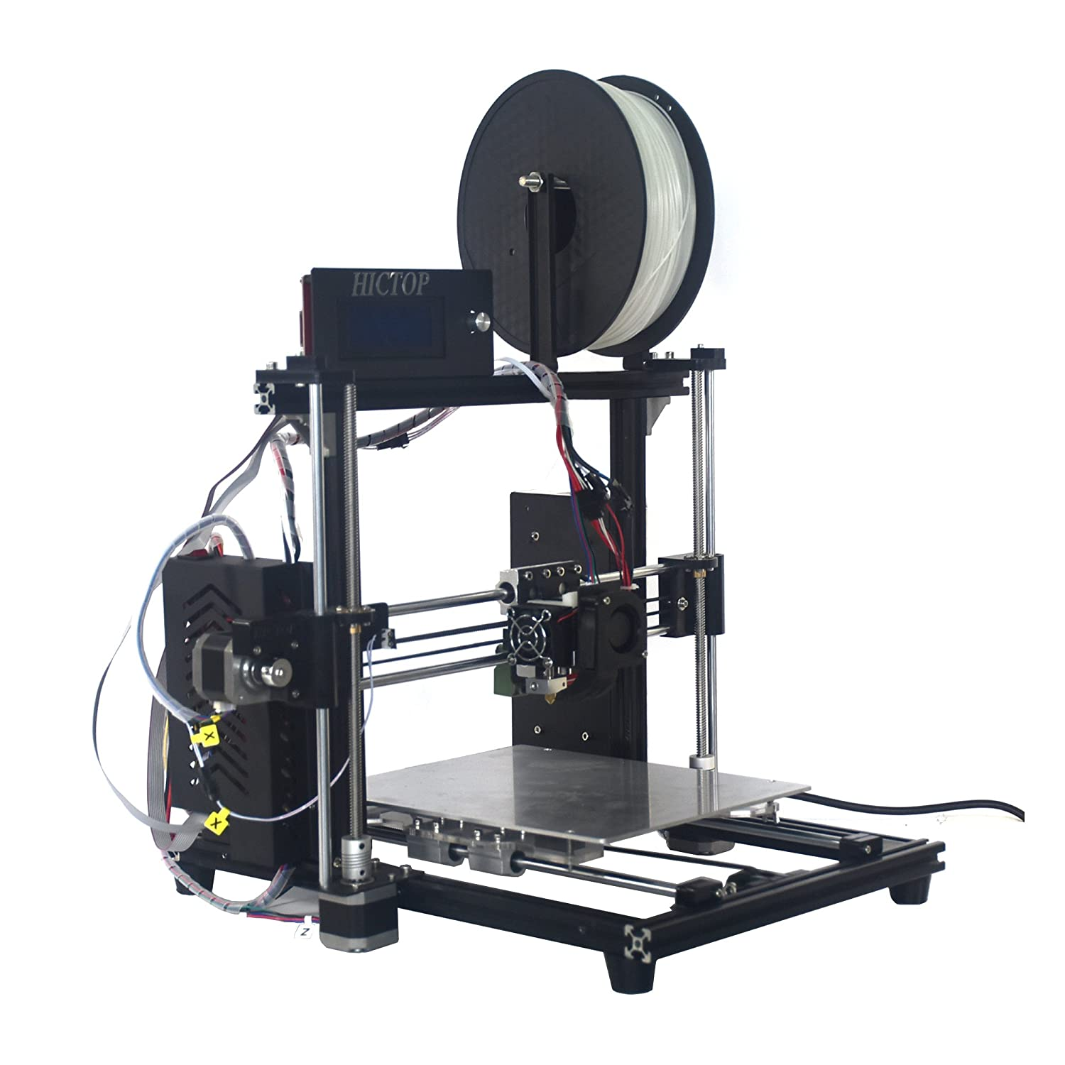 Hictop Auto Leveling Desktop 3d Printer Prusa I3 Diy Kit High Camt Launching Firstever For Printed Circuit Board Accuracy Cnc Self Assembly 106 X 79 74 Printing Sizefilament Not Included