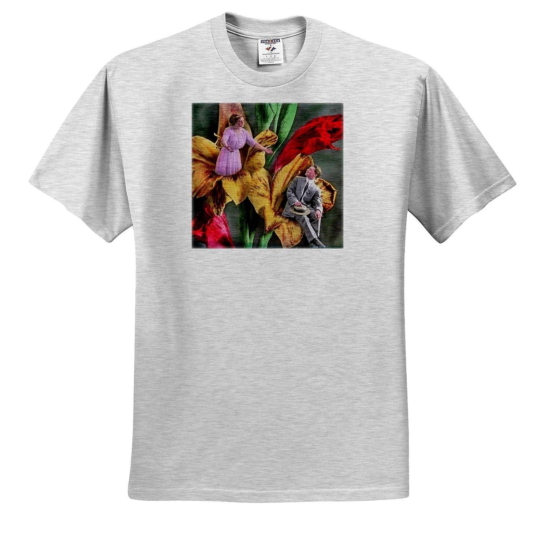 Adult T-Shirt XL ts/_313168 Lille France 3dRose Danita Delimont Place du General de Gaulle Old Town France