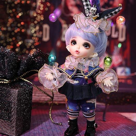 13 Mobile Dolls 16cm BJD Female Body Hair w// Clothing Shoes DIY Girls Gifts