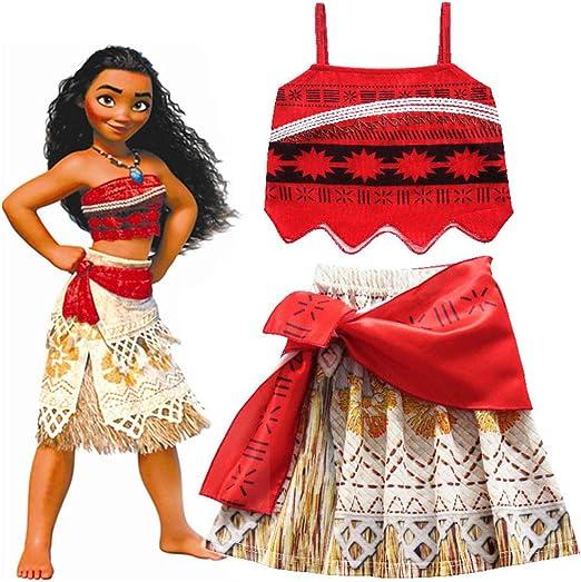 Disfraz de princesa Moana Thomas de Hallowmax para carnaval, color ...