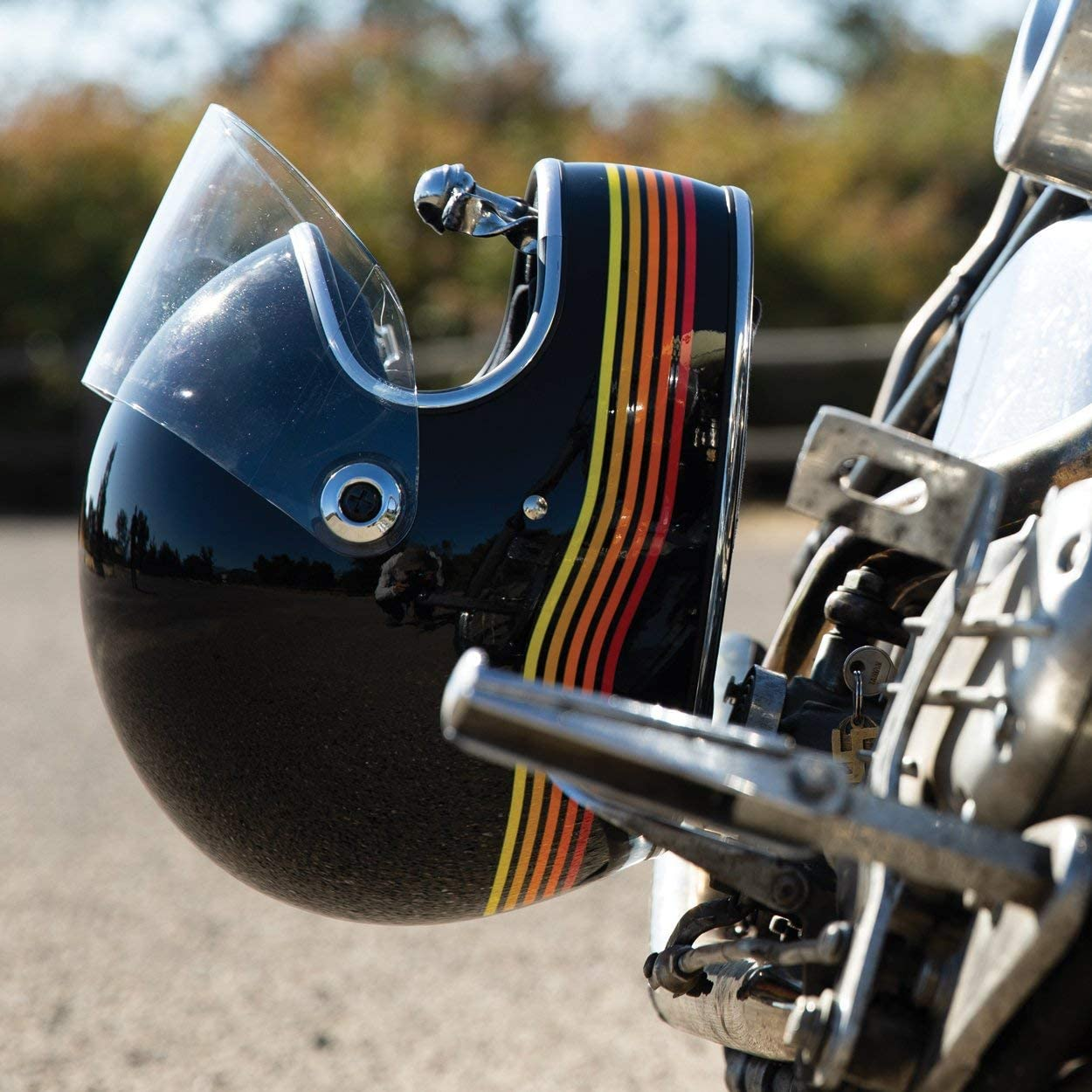Europa Integralhelm Biltwell Gringo S Schwarz gl/änzend Gloss Black Spectrum zugelassen Doppelt zugelassen ECE America /& DOT Helmet Biker Custom Vintage Retro Anno 70 Gr/ö/ße XL