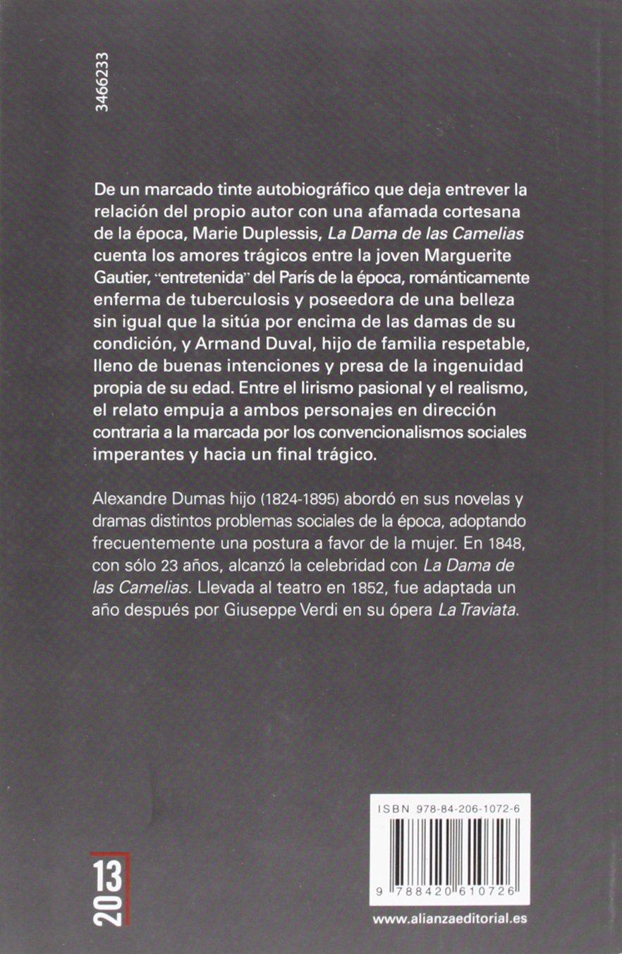 La Dama de las Camelias (13/20): Amazon.es: Dumas, Alexandre ...