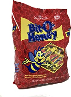 product image for Pearson's Bit-O-Honey Original | Sweet Taffy Treats Made with Real Honey and Almond Bits | (44.9 Ounce Bag)