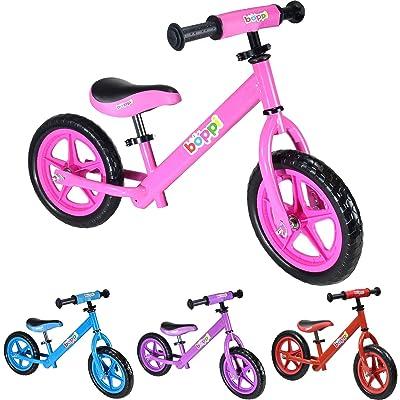boppi® Bicicleta sin Pedales de Metal para niños de 2-5 Anos - Rosa: Deportes y aire libre