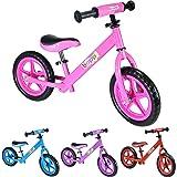 boppi® Bicicleta sin pedales de metal para niños de 2-5 años
