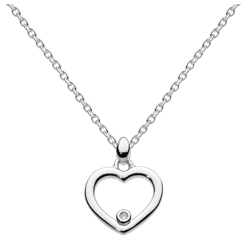 Kit Heath Kid's Sterling Silver Dinky Diamond Necklace of 35.5 cm 76i0bu1YL