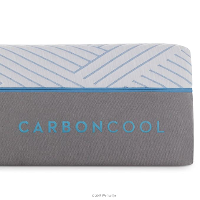 Amazon.com: WELLSVILLE 14 Inch CarbonCool Memory Foam Premium Mattress, King: Kitchen & Dining