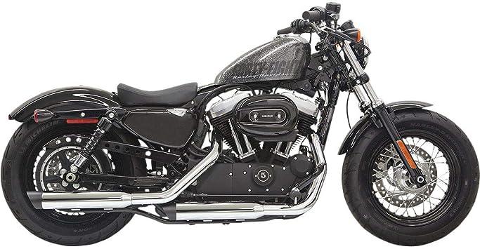 "Bikers Choice Exhaust Pipe Baffle 1.5/"" OD Steel Drag Pipes Cruiser Harley"