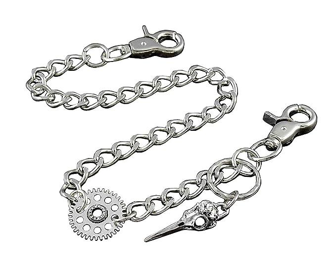 0cb90c792760 Steampunk Biker Keychain Metal Wallet Chain For Mens Boy Unisex (Xtom2013  SP01)