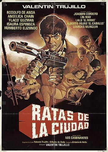 Amazon.com: Ratas de la ciudad 1986 Authentic 25.75