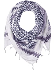 (One Size Fits Most, Blue/White) - Proforce Shemagh Scarf Blue and White