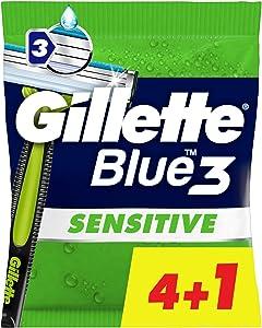 Gilette Blue3 Sensitive Disposable Blades for Men
