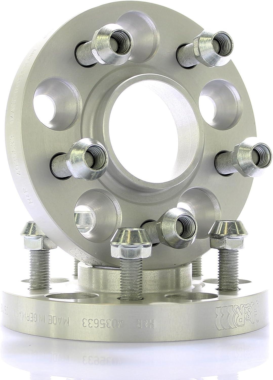 nettoyant pour freins H/&R DRM /Élargisseur de voie MZ /Ø 66,2 x 114,3 //// 2 x 20 mm