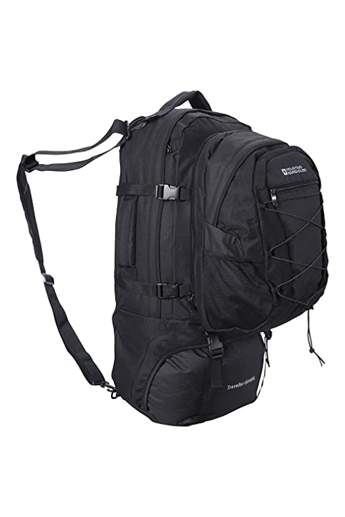 Mountain Warehouse Traveller 60 + 20L Rucksack - Detachable Daypack ... bc840f6bcd117