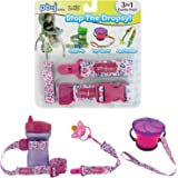 Stop The Dropsy 3-in-1 Pack for Sippy Cup, Pacifier, Toys (Hearts)