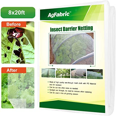 4 Size Agfabric Garden Mosquito Netting Bug Insect Anti Bird Net Hunting Barrier