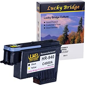 LKB HP940 Printhead 1PK C4900A Remanufactured Compatible for HP Officejet with Pro 8000 8500A 8500A Plus 8500A Premium (1 by)