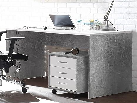 Gut gemocht möbelando Schreibtisch Bürotisch Computertisch Arbeitstisch Tisch TU28