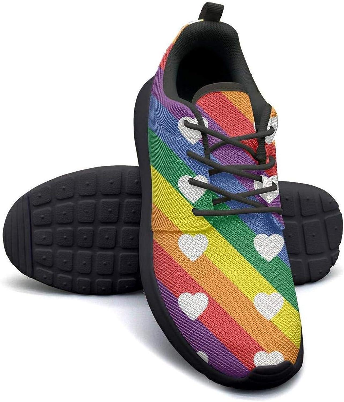 Amazon.com | Rainbow Pride Hearts LGBT