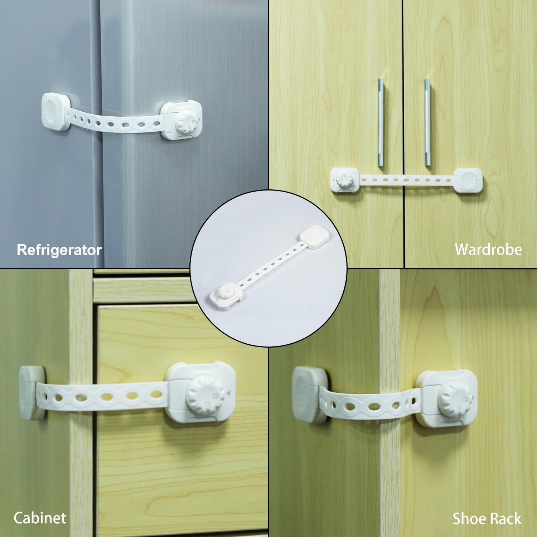 BabyDan Multi-Lock usage multiple enfant verrou de sécurité pour frigo//Armoire//Tiroir