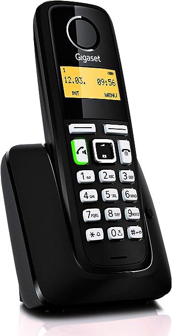 Gigaset A220 - Teléfono Inalámbrico con Manos Libres: Gigaset: Amazon.es: Electrónica