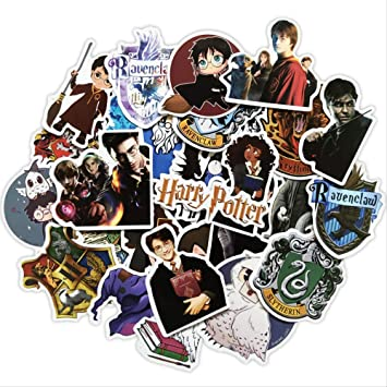 30 Harry Potter Magic Sticker Maleta Sticker Impermeable Estuche ...