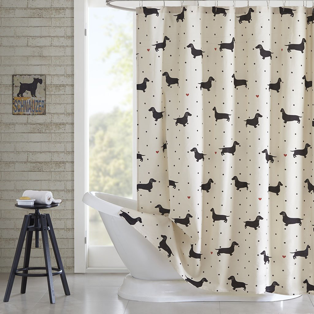 Doxie Shower Curtain