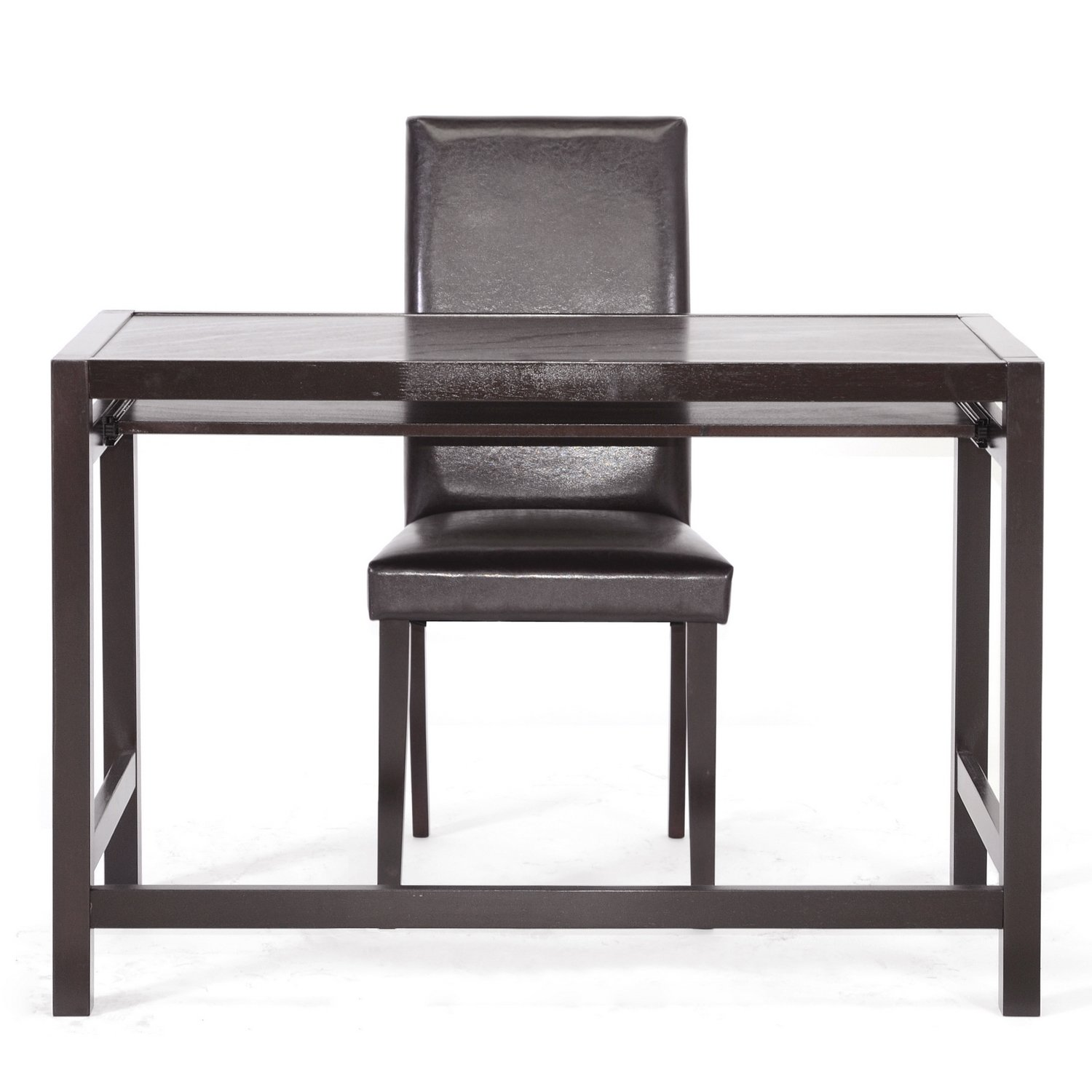 Amazon Baxton Studio Mesa Writing Desk and Parson Chair Set