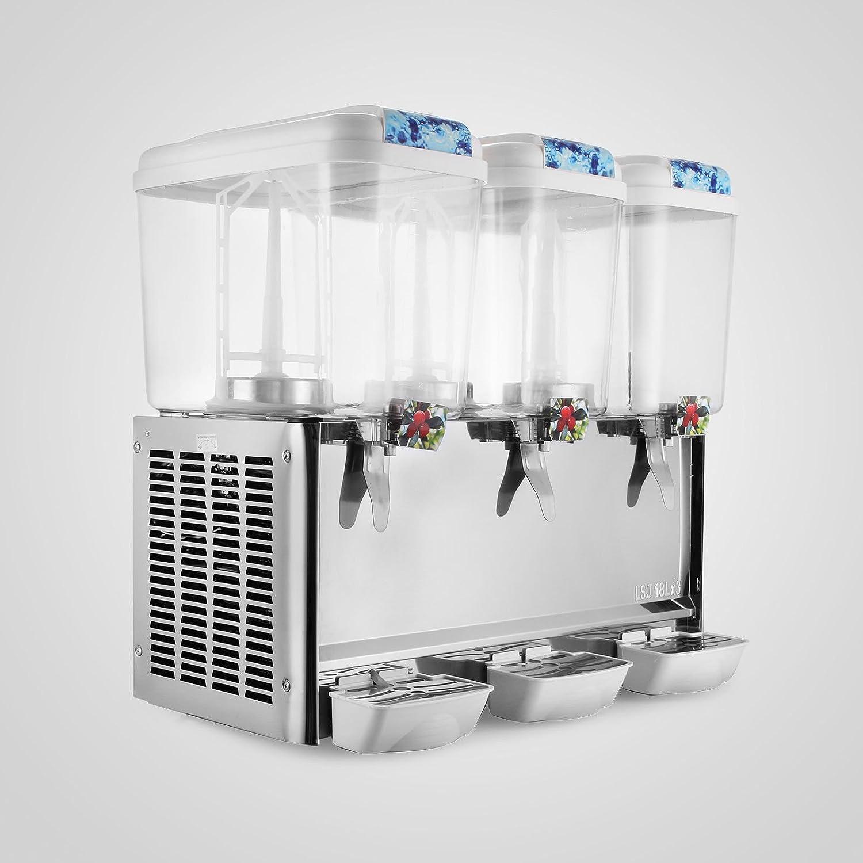 Compra Autovictoria 3 Tanques Dispensador de Jugo 18L / Tanque Dispensador de Bebidas en frío Dispensador de Bebidas de Acabado de Plástico / Acero ...