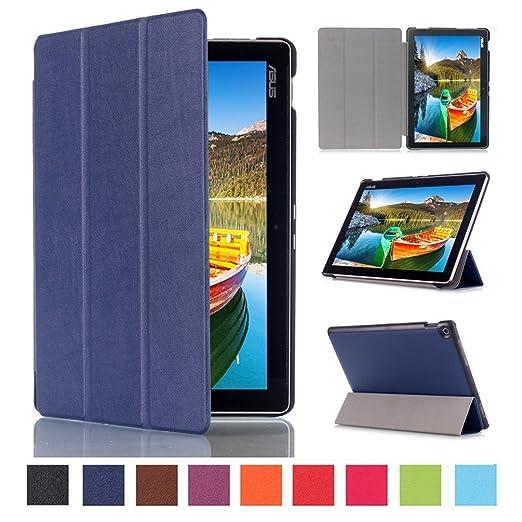 119 opinioni per ZenPad 10 Tablet Cover,Slim Smart Cover Protezione Custodia in Pelle per ASUS