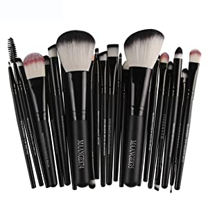 Baomabao 22pc Cosmetic Makeup Brush Blusher Eye Shadow Brushes Set Kit