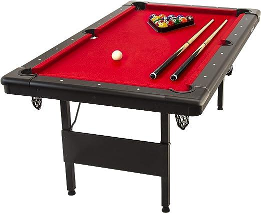 GoSports 6ft or 7ft Billiards Table - Best Heavy-Duty Built