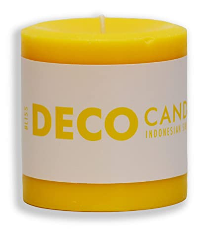 3214e53e5a DecoCandleS | Bliss- Indonesian Sweet Mango - Highly Scented Candle - Long  Lasting - Signature