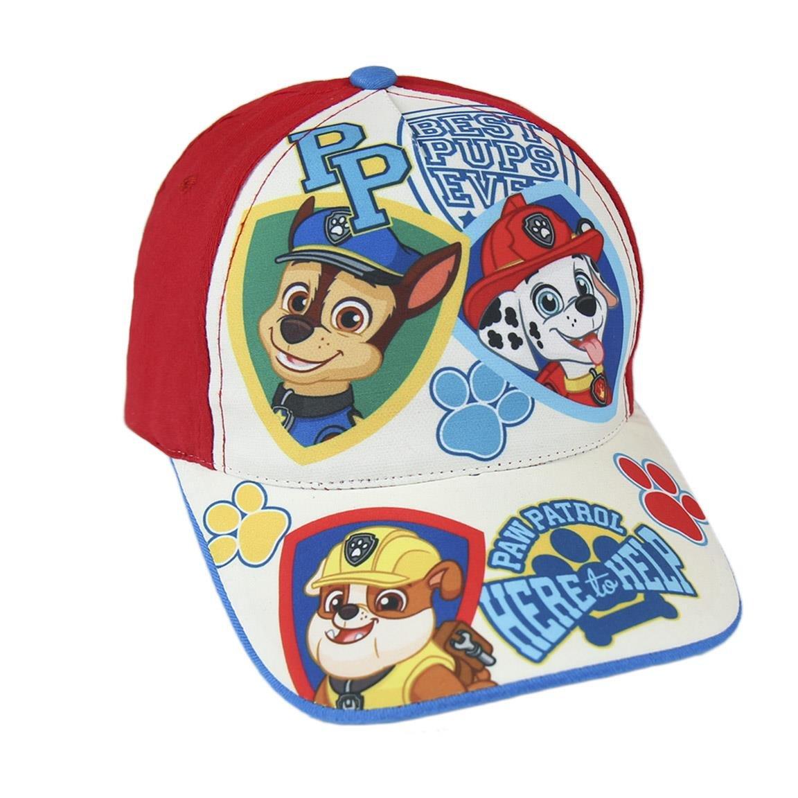 Multicolore Bambini Cotone Paw Patrol 2200-2003 Cappello Visiera
