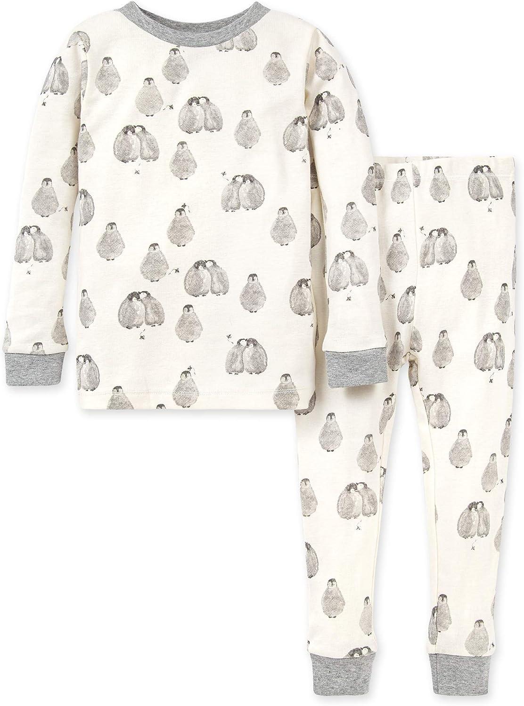 Burt's Bees Baby Baby Boys' Pajamas, Tee and Pant 2-Piece Pj Set, 100% Organic Cotton: Clothing