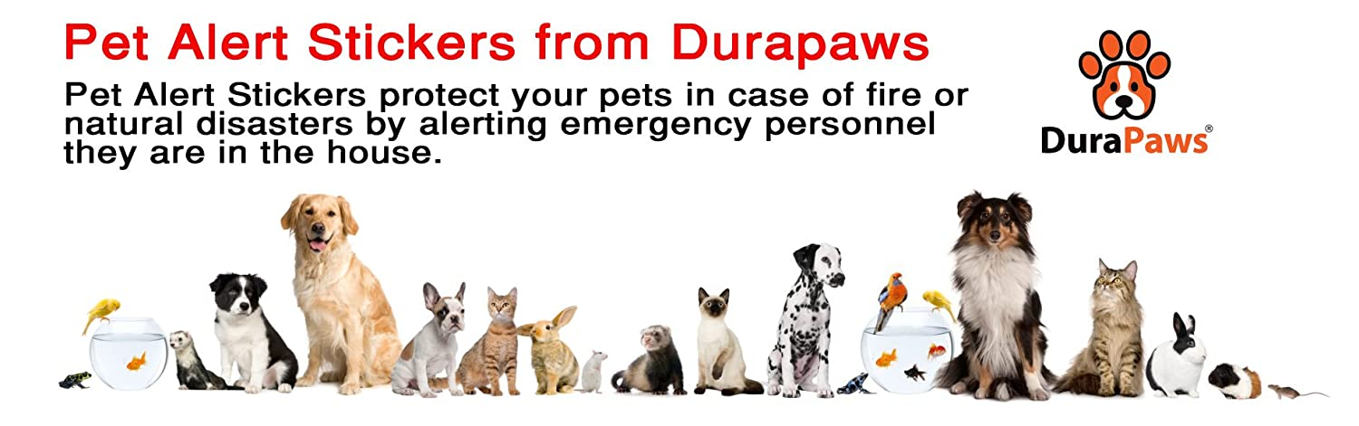 FREE 2 Pack Pet Alert Stickers: For Every Door & Window of Your Home  *SUPPLIES VERY LIMITED*