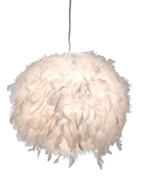 Led Pendellampe Ducky Ø 30 cm mit Federn , Pendelleuchte, Pendelleuchte, Pendelleuchte, Lampe, Leuchte , Deckenlampe inkl. 1x 7 Watt Led   302e38