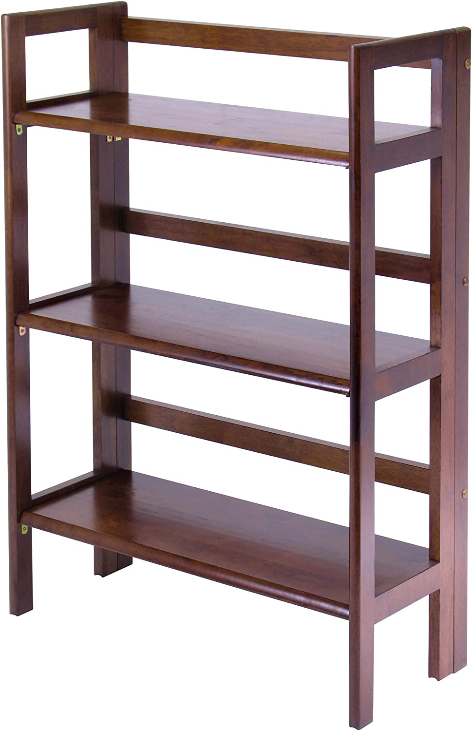 Winsome Wood Terry Shelving, Walnut