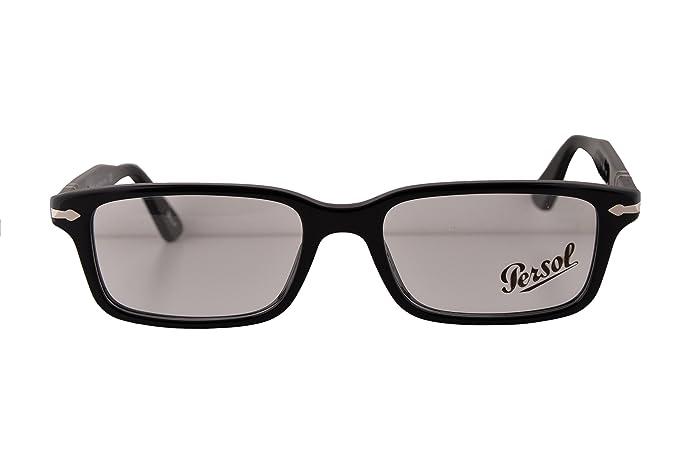c7d499da15f1b Persol PO2965VM Eyeglasses 53-18-140 Black 95 PO2965-V-M (FRAME ONLY ...