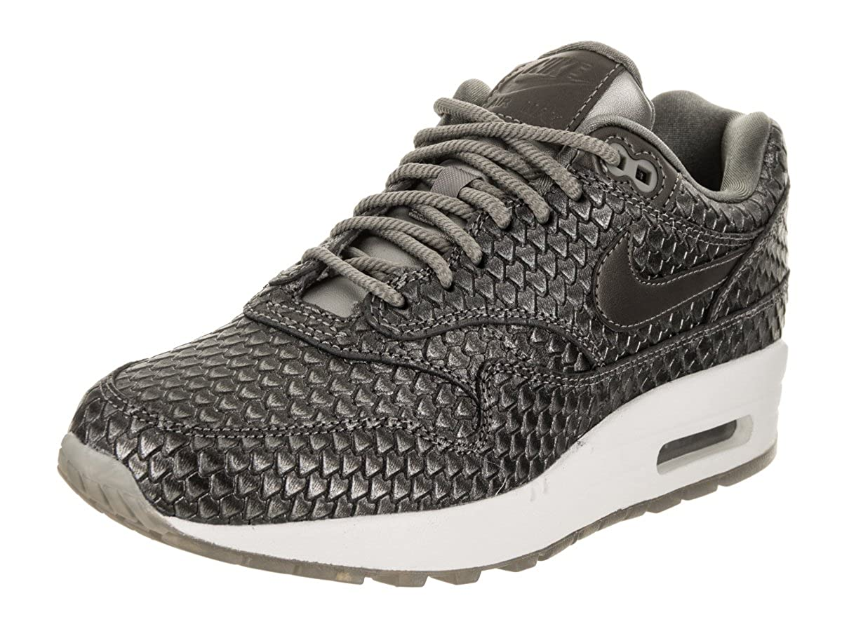 size 40 1a41e f8637 Amazon.com   Nike Air Max 1 Premium Women s Running Shoes Metallic Pewter  Metallic Pewter 454746-015   Road Running