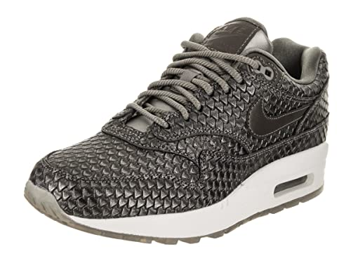 2b412846 Nike Air Max 1 Premium Women's Running Shoes Metallic Pewter/Metallic  Pewter 454746-015