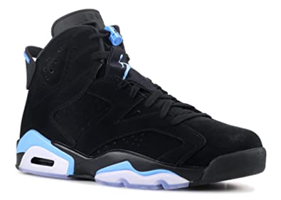 Nike Air Jordan 6 Retro UNC Men Black University Blue 384664-006 (8)