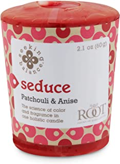 product image for Root Candles Seeking Balance 20-Hour Votive Candles, 18-Pack, Seduce: Patchouli & Anise, 18 Count