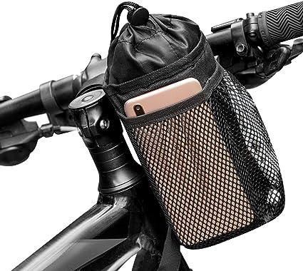 Bicycle Bottle Cup Holder Mountain Bike Handlebar Mount Water Drink Cage Rack