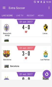 Amazon com: Extra Soccer Live Foot & Scores News: Appstore for Android