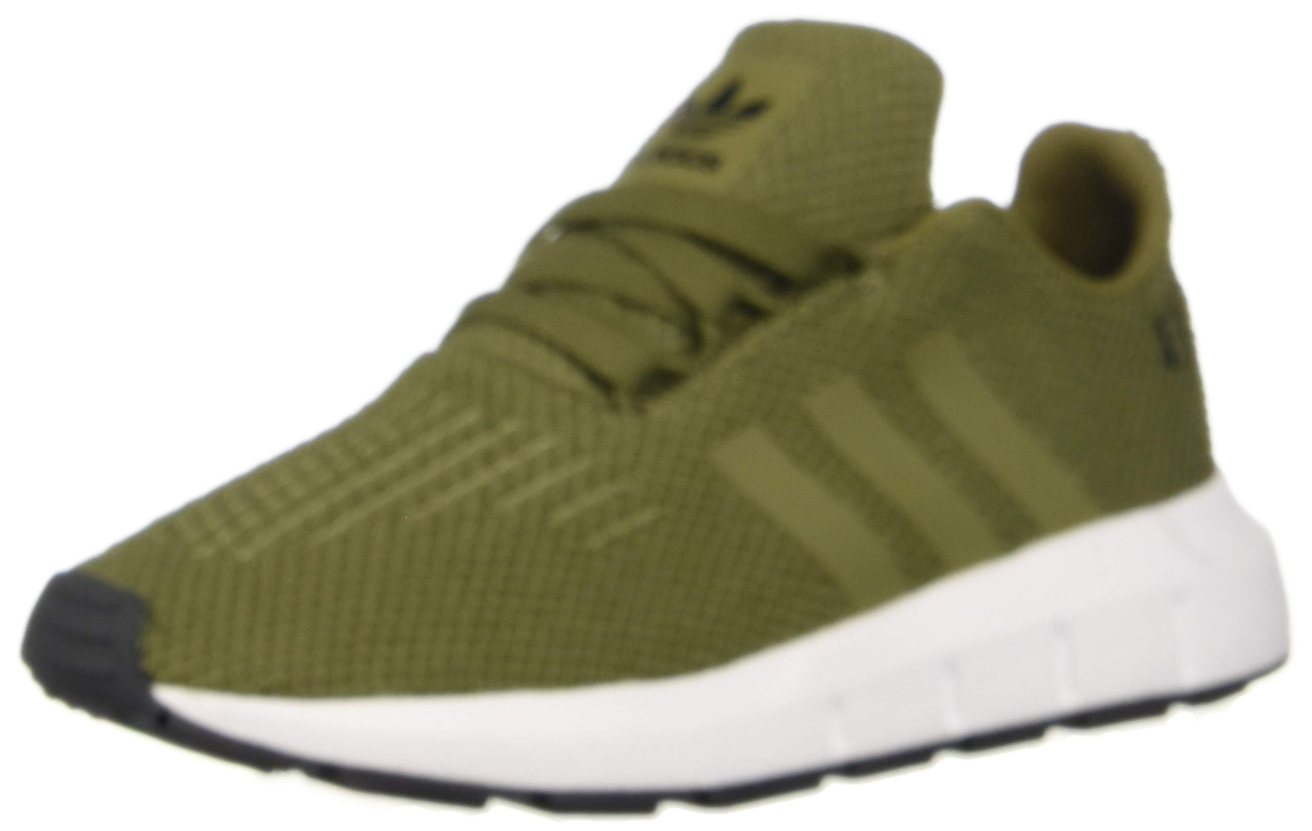 adidas Originals Baby Swift I Running Shoe, Olive/White, 4K M US Toddler