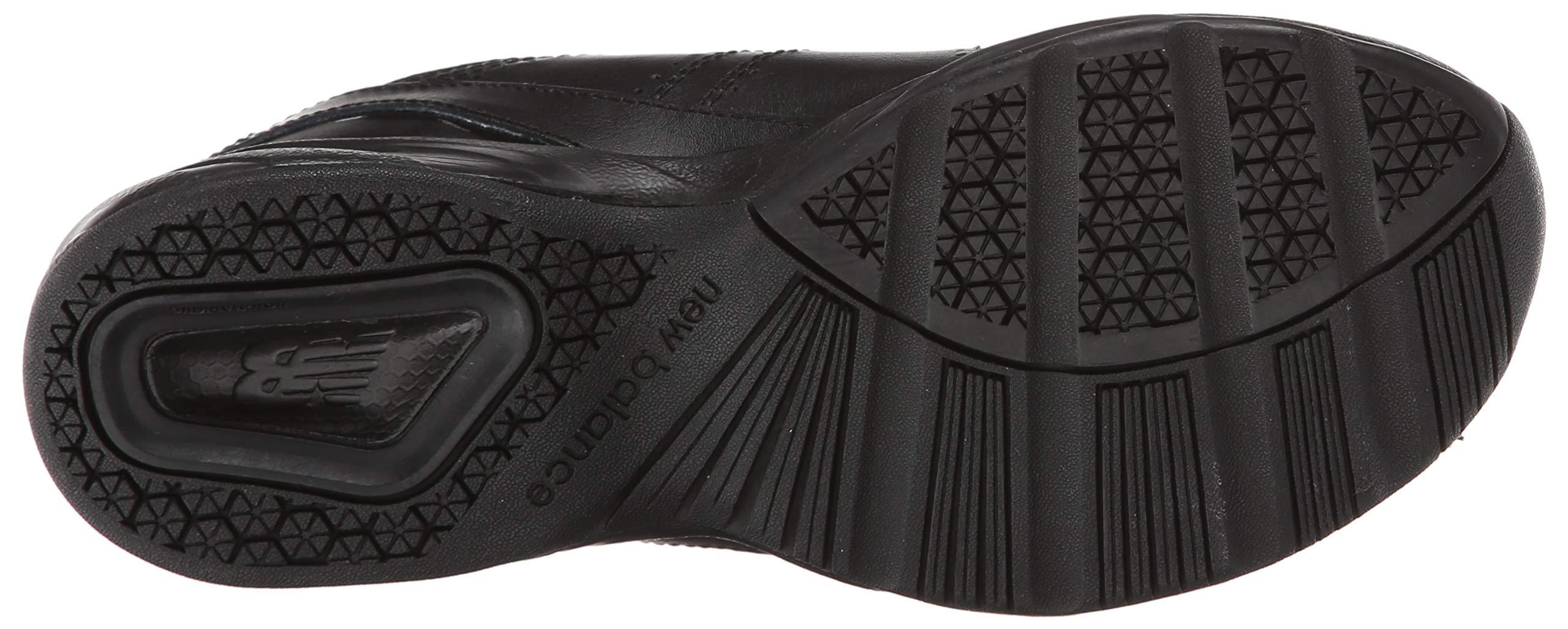 New Balance Boys KX624 Lace-Up Training Shoe ,Black,7 W US Big Kid by New Balance (Image #3)